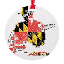 Local Music Maryland guitar Ornament