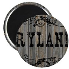 Ryland, Western Themed Magnet