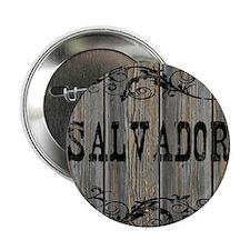 "Salvador, Western Themed 2.25"" Button"