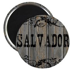 Salvador, Western Themed Magnet