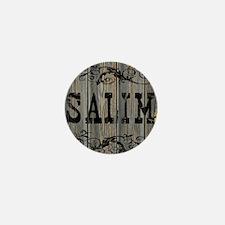 Salim, Western Themed Mini Button