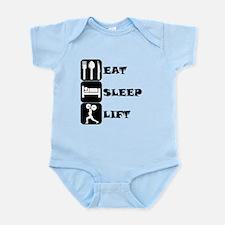 Eat Sleep Lift Body Suit