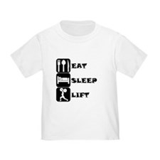 Eat Sleep Lift T-Shirt