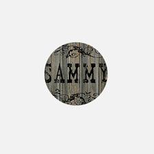 Sammy, Western Themed Mini Button