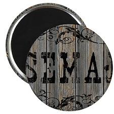 Semaj, Western Themed Magnet