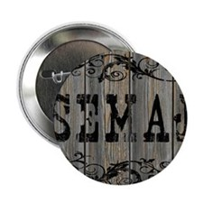 "Semaj, Western Themed 2.25"" Button"