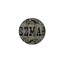 Semaj, Western Themed Mini Button