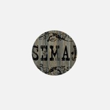 Semaj, Western Themed Mini Button