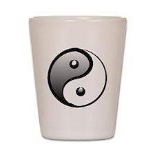 yingyang1 Shot Glass
