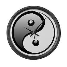 yingyang1 Large Wall Clock
