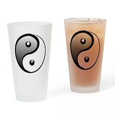 yingyang1 Drinking Glass