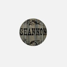 Shannon, Western Themed Mini Button