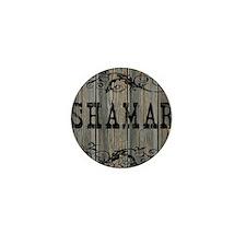 Shamar, Western Themed Mini Button