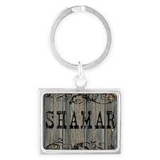 Shamar, Western Themed Landscape Keychain