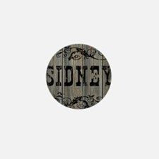 Sidney, Western Themed Mini Button