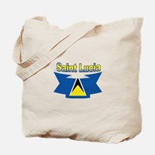 St Lucia Ribbon Tote Bag