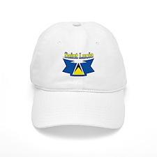 St Lucia Ribbon Baseball Cap