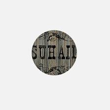 Suhail, Western Themed Mini Button