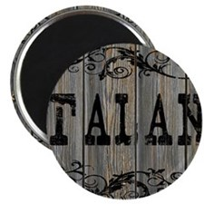 Talan, Western Themed Magnet