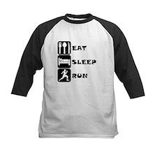 Eat Sleep Run Baseball Jersey