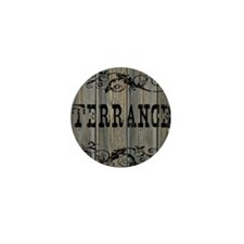 Terrance, Western Themed Mini Button