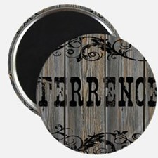 Terrence, Western Themed Magnet