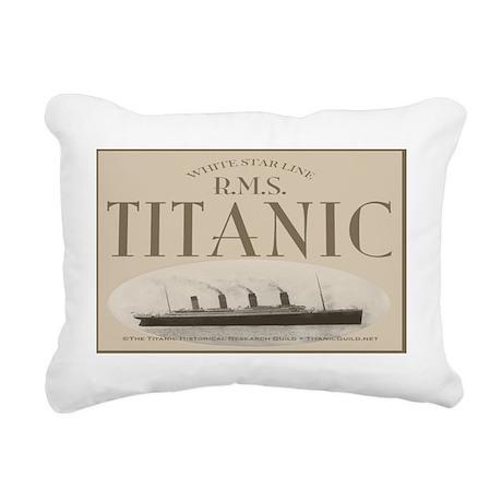RMSLaptopSkin Rectangular Canvas Pillow