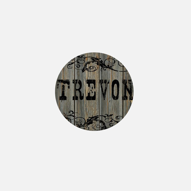 Trevon, Western Themed Mini Button