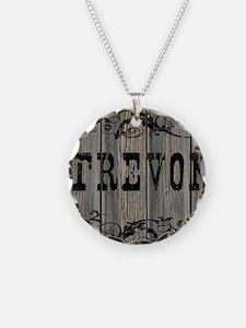 Trevon, Western Themed Necklace
