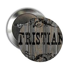 """Tristian, Western Themed 2.25"""" Button"""