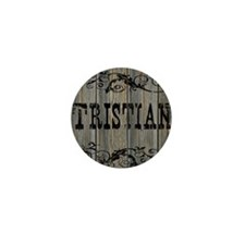 Tristian, Western Themed Mini Button