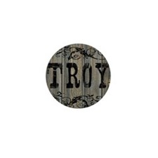 Troy, Western Themed Mini Button