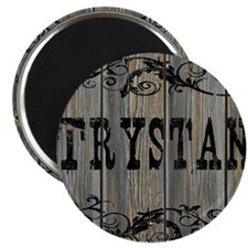 Trystan, Western Themed Magnet