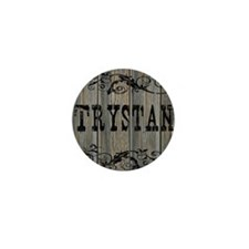 Trystan, Western Themed Mini Button