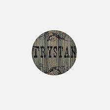 Trystan, Western Themed Mini Button
