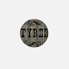 Tyree, Western Themed Mini Button