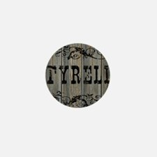 Tyrell, Western Themed Mini Button