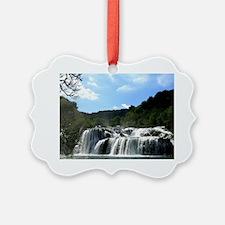 Croatia Waterfall Ornament