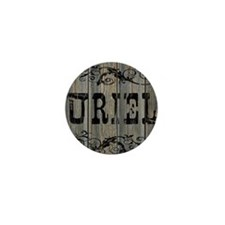 Uriel, Western Themed Mini Button