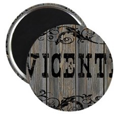 Vicente, Western Themed Magnet