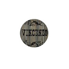 Vincenzo, Western Themed Mini Button