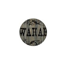 Wahab, Western Themed Mini Button