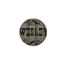 Wesley, Western Themed Mini Button