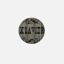 Xzavier, Western Themed Mini Button