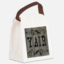Yair, Western Themed Canvas Lunch Bag