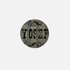 Yosef, Western Themed Mini Button