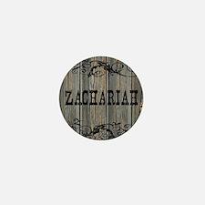 Zachariah, Western Themed Mini Button