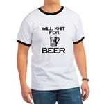 Will Knit for Beer Ringer T