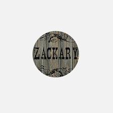 Zackary, Western Themed Mini Button
