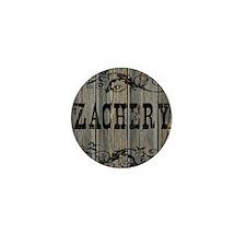 Zachery, Western Themed Mini Button